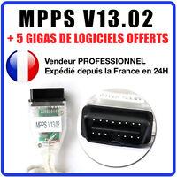 Interface MPPS V13.02 + Logiciel V16 Reprogrammation calculateur ECU AUTEL