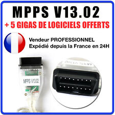Interface MPPS V13.02 CHIP TUNING FLASH PROGRAMMATION ECU + Pack logiciels V16