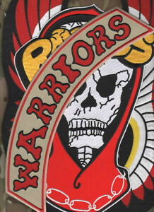 FANCY DRESS HALLOWEEN PARTY MOVIE WARRIORS PROP GANG PATCH: Rogues/Warriors