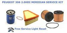 PEUGEOT 306 1.9 TD 93> SERVICE PARTS KIT MERIDIAN