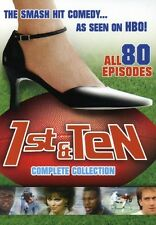 1st First & Ten DVD 6 disc Set HBO NEW SEALED (entire season-80 shows)