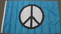 3X5 PEACE SIGN FLAG WORLD USA NEW BANNER LOVE F158