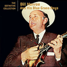 Definitive Collection - Bill Monroe (2005, CD NUEVO)