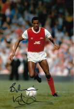 Arsenal Hand Signed Viv Anderson Photo 12x8 1.