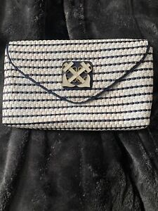 Lilly Pulitzer Anchors Away Clutch Purse Bag- Great Condition