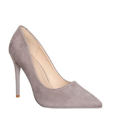 Womens Ladies Court Style Stiletto Shoes Pointed Toe High Heels Pumps Size