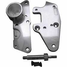 Covingtons Chrome Driver Floorboard Relocator For Harley Davidson 09-13 C1332-C