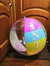 "New inflatable beach ball 36"" by Intex"