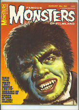Horror & Monster August Magazines in English