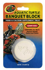 Zoo Med Aquatic Turtle Banquet Block Giant   Free Shipping