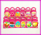 12 X SHOPKINS PARTY FAVOUR BOXES THEMED KIDS BIRTHDAY BAGS SUPPLIES DECORATIONS