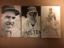 Robert Johnson Boston Signed Postcard JSA Precertified**