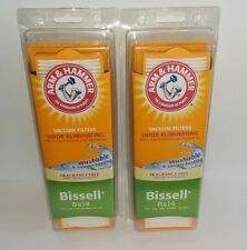 Lot Of 2 Arm & Hammer Vacuum Filters For Bissell 8 & 14 New