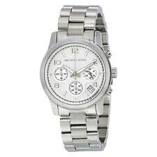 Michael Kors Women's Chronograph Runway Stainless Steel Bracelet Watch MK5076