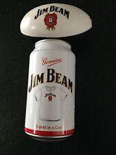 BNWT Mens Sz Large Genuine Jim Beam T Shirt in a Can + Bonus Stress Ball