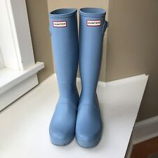 womens Hunter rain boots Blue size 11