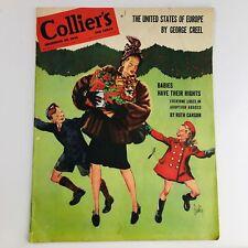 Collier's Magazine December 22 1945 I'm Crazy by J.D. SALINGER, catcher in rye
