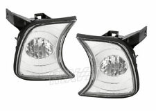 89-94 BMW E34 5-Series Crystal clear Front Corner Indicator Lights! Pair! DEPO!