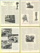 1922 Methods Of A Modern Laundry, By O Bertoya