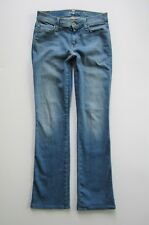 7 Seven For All Mankind Slim Boot Cut Stretch Jean, Light Wash - Size 26 x 30