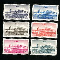 Lebanon Stamps # C159-64 XF OG NH
