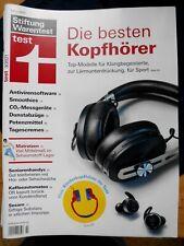 Stiftung Warentest 03-2021*Kopfhörer Antivirensoftware Smoothies Dunstabzüge