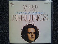 "Morris Albert-feelings 7"" single SUNG IN SPANISH"
