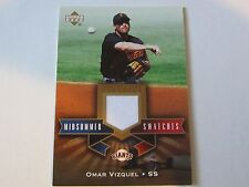 2005 Upper Deck Omar Vizquel Jersey Card (B101) San Francisco Giants