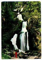 Triberg im Schwarzwald Postcard Germany Black Forest Waterfalls Posted