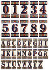 Spanische Hausnummer Keramik Zahlen Ziffern Buchstaben Symbole Kacheln Fliesen