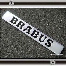 Brabus Insignia Emblema Trasero Parte trasera Fender Mercedes C Cl CLK Slk Smart S Clase SL