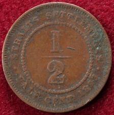 Straits Settlements Half Cent 1873
