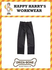 Driza-Bone (Drizabone) Traditional Oilskin Trousers Brown NEW WITH TAGS!