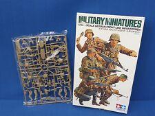 Tamiya Kit plástico modelo alemán de primera línea Infantrymen 1:35 artículo de escala 35196