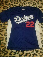 CLAYTON KERSHAW Los Angeles DODGERS Baseball SGA Replica Jersey XL