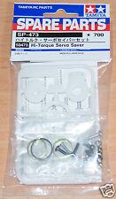 Tamiya 50473 Hi-Torque Servo Saver (Blanco) (TB02/CC01/TA01/TA02/TA03/TA05), nuevo en paquete