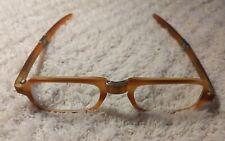 Danilo Carraro Eyeglasses * Light Brown Frames * Foldable * Venice * Awesome!
