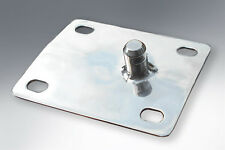 LAMBRETTA SEAT LOCKING PLATE CATCH - SIDE LEVER TYPE - STAINLESS STEEL