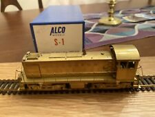 Alco Models D-116 HO Scale BRASS S-1 Diesel Engine EX/Box