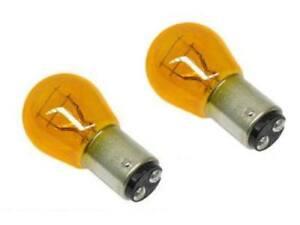 BMW e38 z3 light Bulb Yellow Front Turn Signal OEM (x2) bulbs blinker lamp lamps