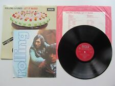 THE ROLLING STONES  LET IT BLEED UK 1969  MONO STICKER SLEEVE  INNER & POSTER