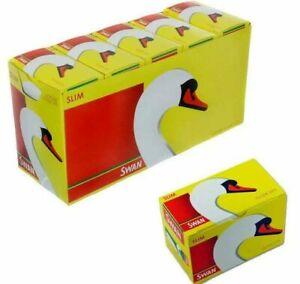 SWAN SLIM FILTER TIPS - 10 PACK - 165 tips per box total 1650 tips