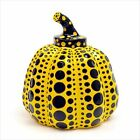 Yayoi Kusama  Paperweight Object Sculpture Yellow Pumpkin Artist Authentic Japan