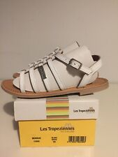 Girls Les Tropeziennes Sandals Size UK13/EU32-White