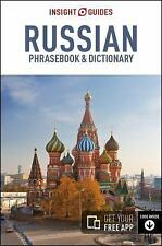 INSIGHT GUIDES RUSSIAN PHRASEBOOK & DICTIONARY - INSIGHT GUIDES (COR) - NEW PAPE