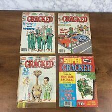 VINTAGE CRACKED MAGAZINES~LOT OF 4~1983