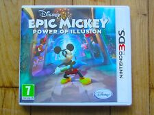 JEU NINTENDO DS LITE @@ DSI XL @@ 3DS @@ EPIC MICKEY POWER OF ILLUSION @ COMPLET