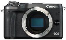 Canon Mirrorless Single-Lens Camera Eos M6 Body (Black) Eosm6Bk-Body