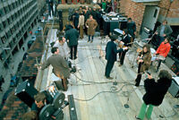 BEATLES - ROOFTOP RECORDING SESSION - POSTER 24x36 - MUSIC BAND 34248
