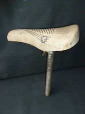 Ancienne selle vieux vélo ancien cycle CITY COUNTRY french antique bicycle seat